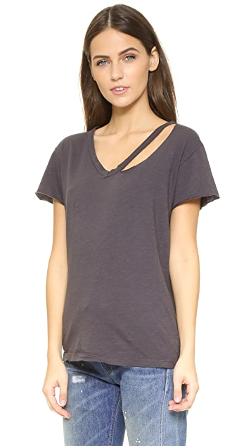 LNA Fallon V Neck Tee