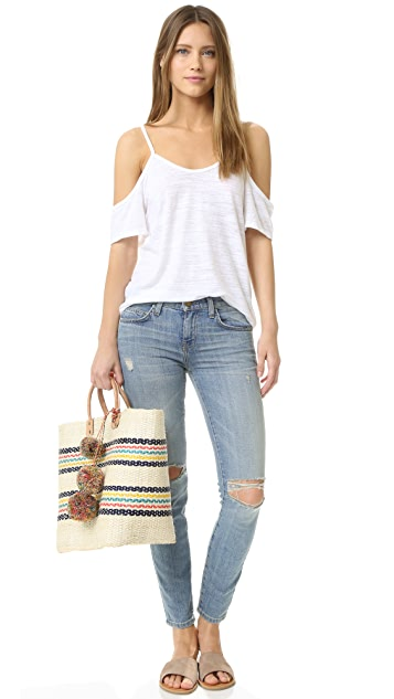 LNA Off Shoulder Tee