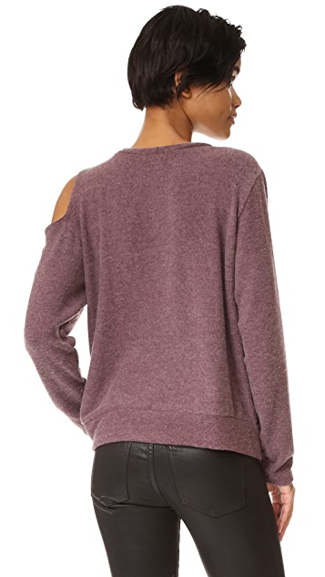 LNA Double Slash Sweater