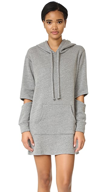 LNA Hoodie Sweatshirt Dress