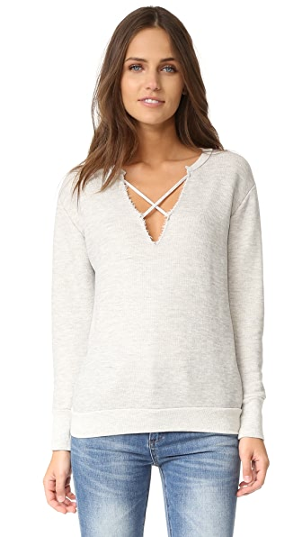 LNA Crossed Over Sweatshirt