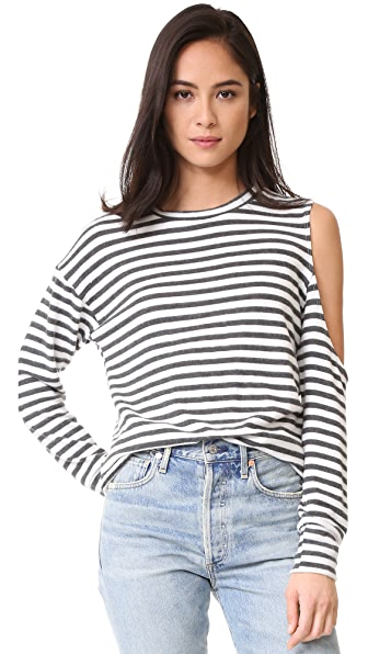 LNA Evolver Sweater - Natural Stripe