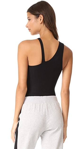 LNA Angle Strap Bodysuit