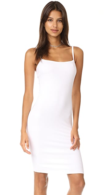 LNA Double Layer Tank Dress
