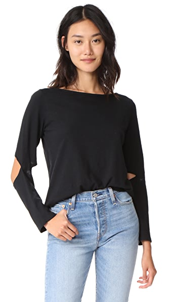 LNA Odeon Pullover In Black