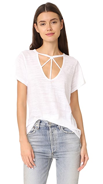 LNA Willow Strappy Tee