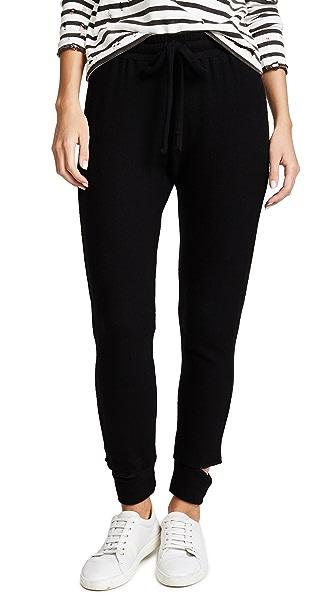 LNA Brushed Pants In Black