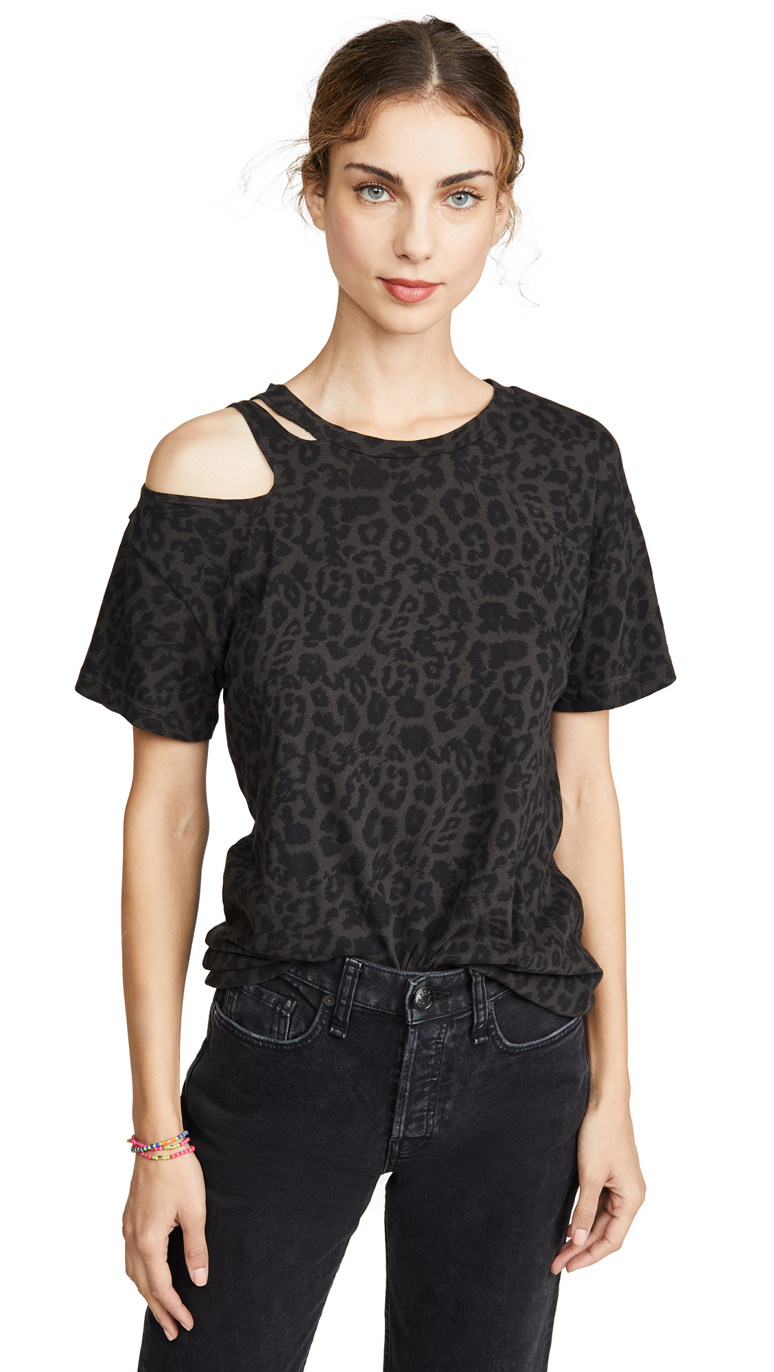 Buy LNA online - photo of LNA Black Leopard Trigger Tee