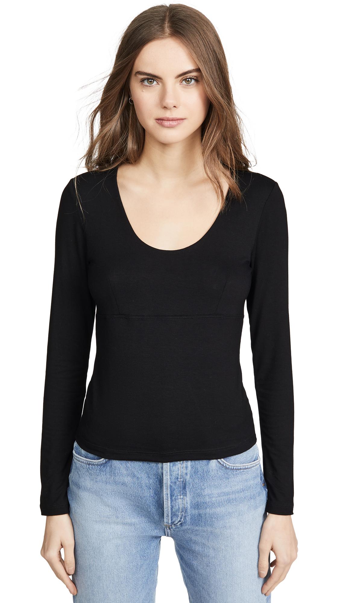 Buy LNA online - photo of LNA Harlee Long Sleeve Top