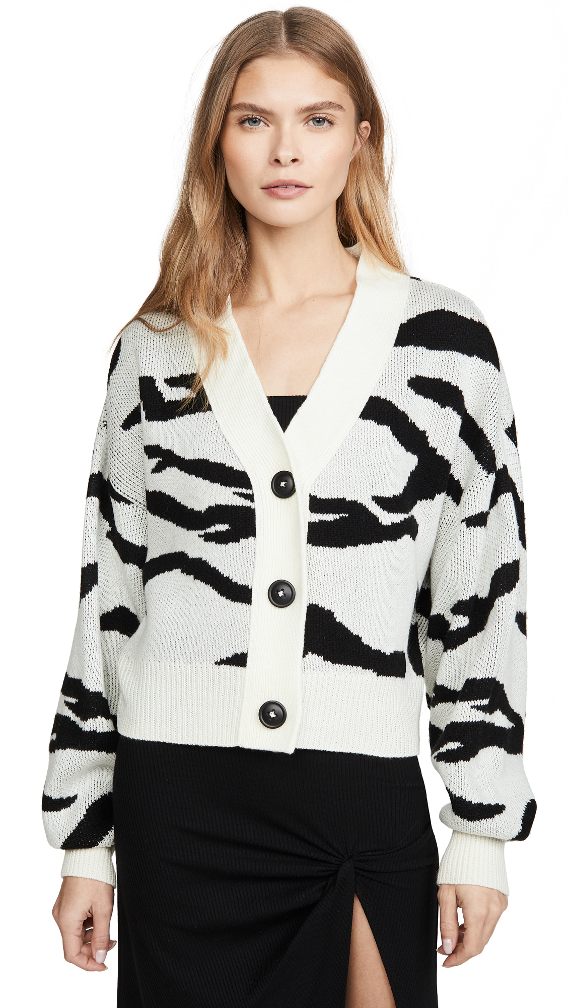 Buy LNA online - photo of LNA Boxy Cardigan Sweater