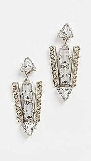 Lionette by Noa Sade Copenhagen Art Deco Earrings