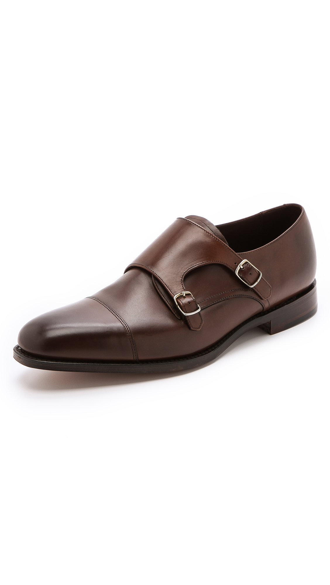 LOAKE 1880 1880 CANNON MONK STRAP SHOES