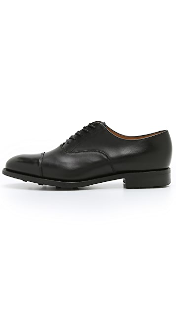 Loake 1880 Scarfell Cap Toe Oxford Shoes
