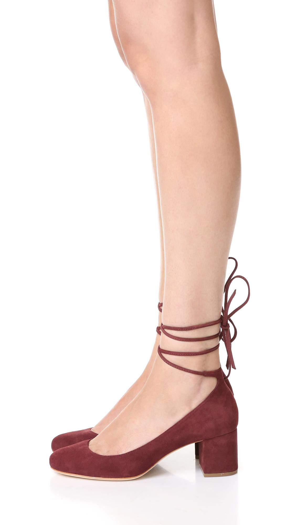cbd3d0a1c Loeffler Randall Clara Ankle Wrap Pumps   SHOPBOP