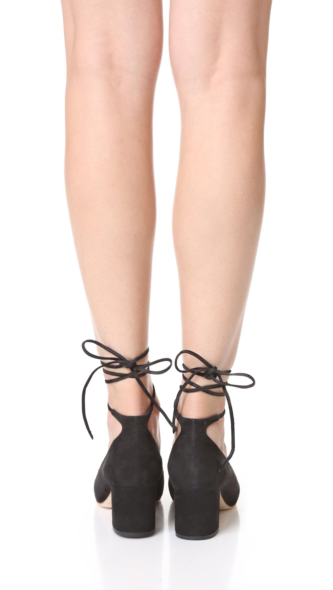 Туфли-лодочки Clara с завязками на щиколотке Loeffler Randall  (LOEFF4079310253124)