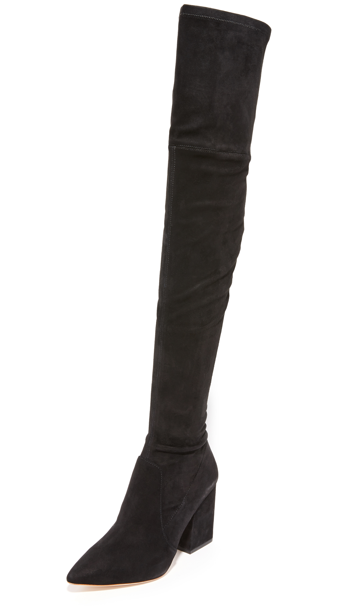 Loeffler Randall Ophelia Over The Knee Boots - Black