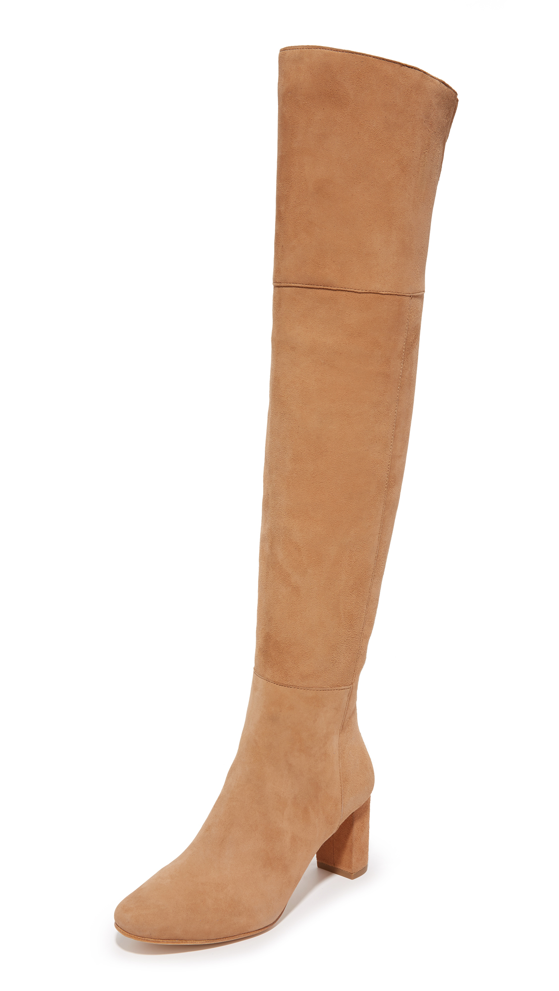 Loeffler Randall Brett Over The Knee Boots - Dark Camel