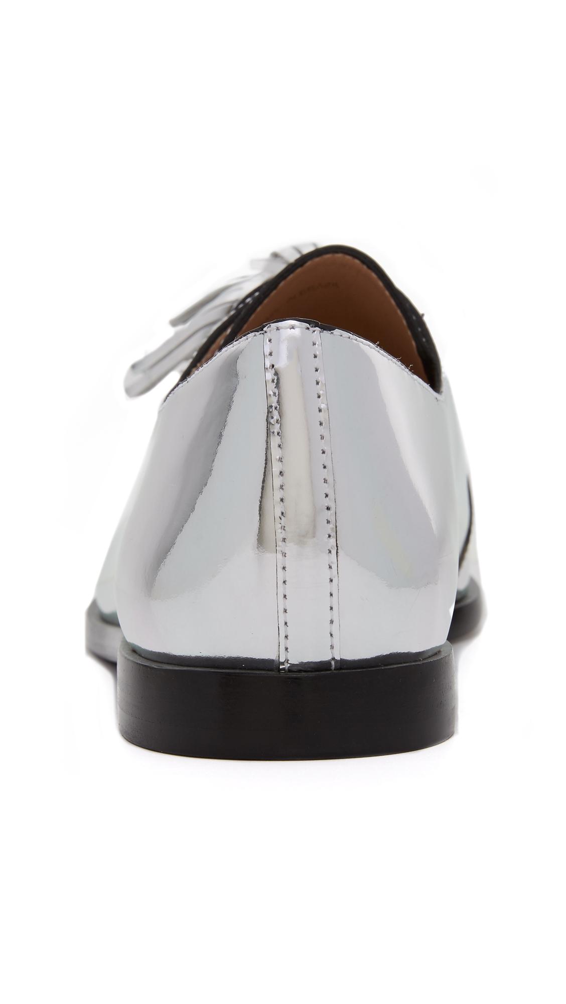 Ботинки на шнурках Jasper с кисточками Loeffler Randall  (LOEFF4080412208162)