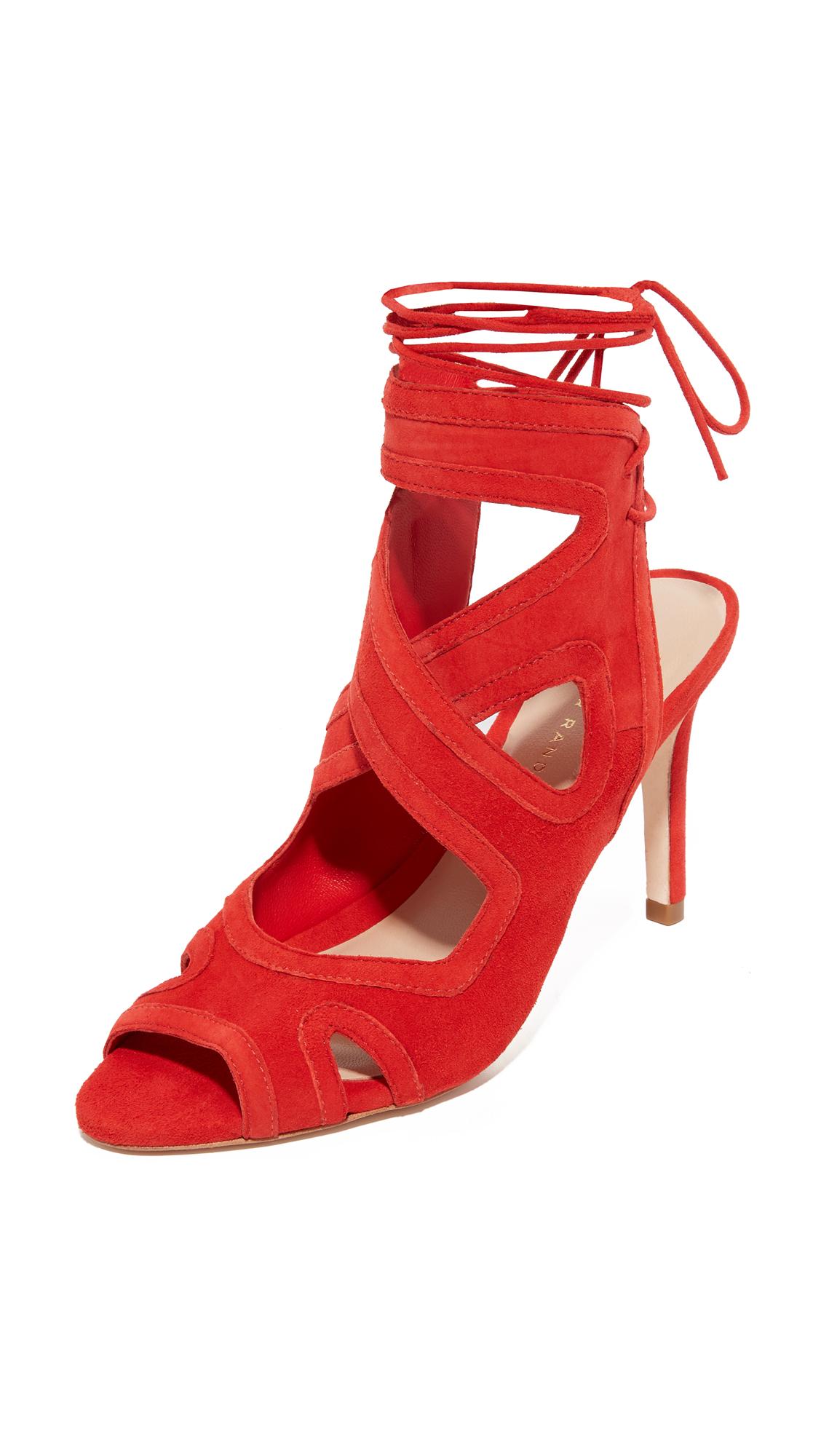 loeffler randall female 124333 loeffler randall leila gladiator sandals flame
