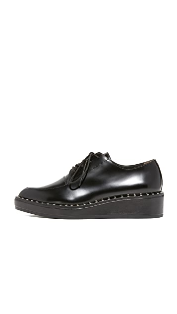 Loeffler Randall Frances Platform Oxfords