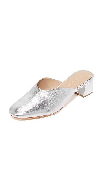 Loeffler Randall Lulu Mules - Silver