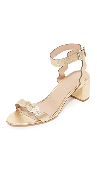 Loeffler Randall Emi City Sandals - Gold