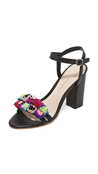 Loeffler Randall Layla Sandals - Black/Multi