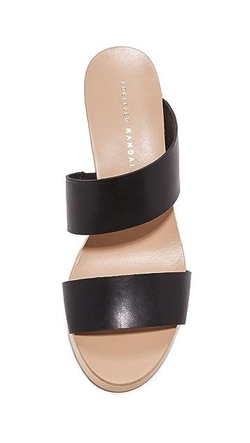Loeffler Randall Mason Wedge Sandals