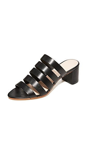 Loeffler Randall Finley City Sandals - Black