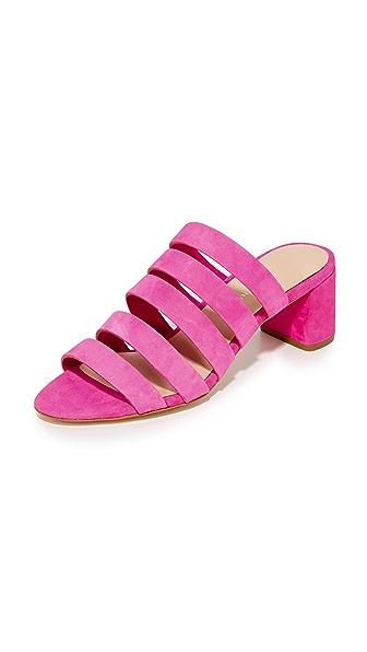 Loeffler Randall Finley City Sandals - Ultra Pink