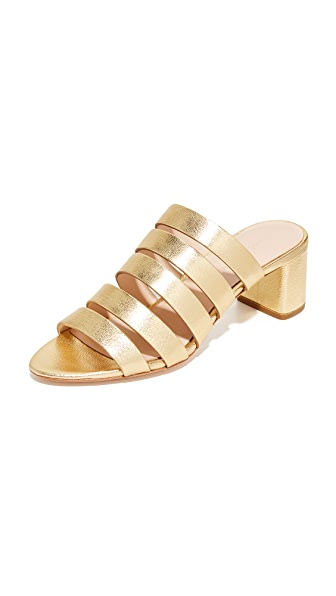 Loeffler Randall Finley City Sandals - Gold
