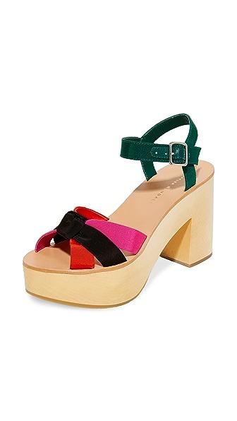 Loeffler Randall Elsa Platform Sandals - Multi