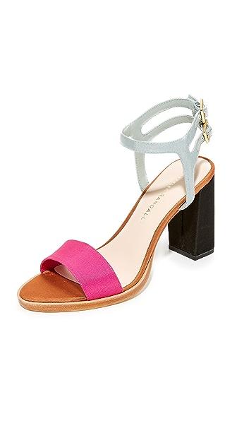 Loeffler Randall Sylvia Sandals - Ultra Pink Multi