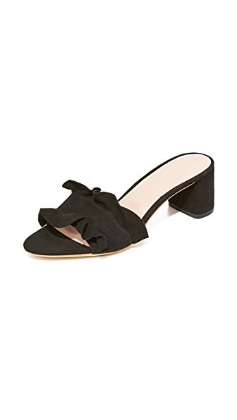 Loeffler Randall Vera City Slides - Black