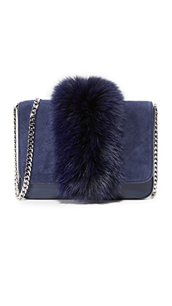Loeffler Randall Lock Shoulder Bag - Eclipse