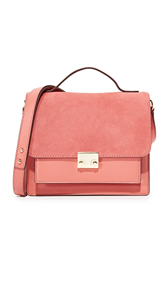 Loeffler Randall Minimal Rider Bag - Dusty Rose