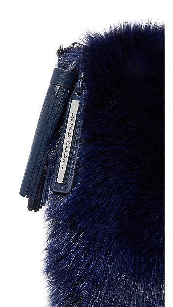 Loeffler Randall Fur Tassel Pouch