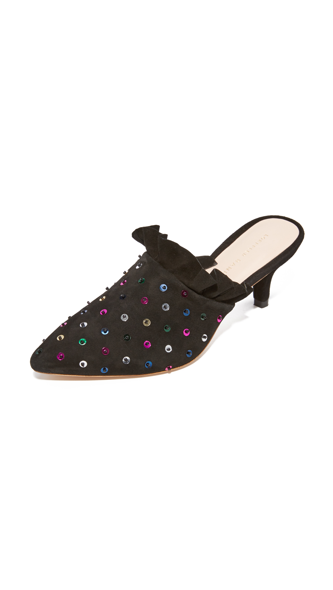 Loeffler Randall Berkley Sequin Pumps - Black/Multi
