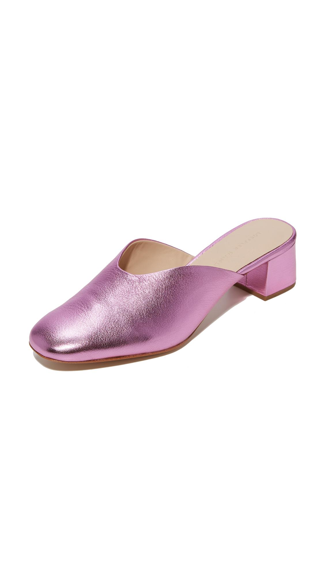 Loeffler Randall Lulu Heeled Mules - Carnation Pink