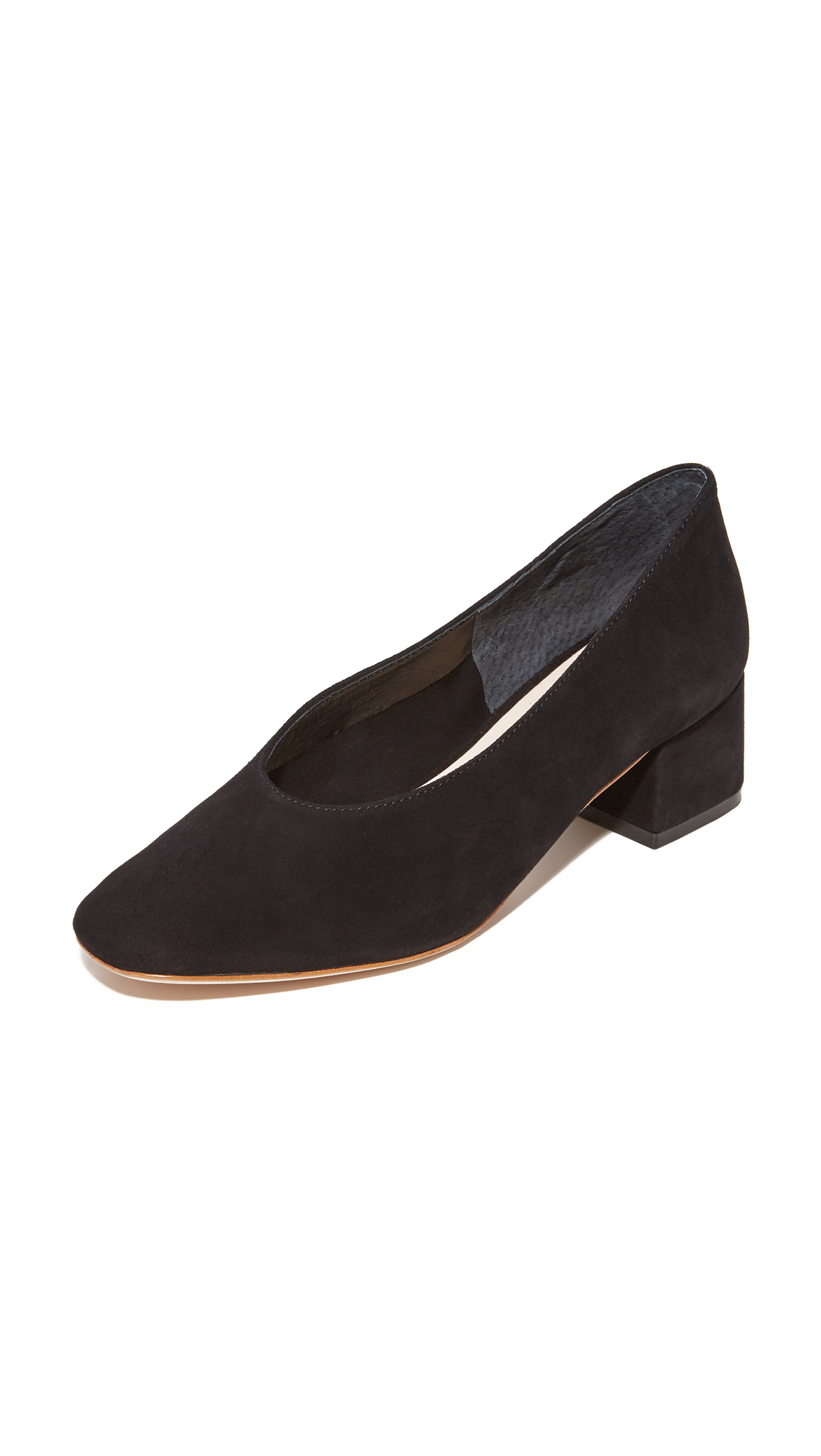 Loeffler Randall Brooks Low Heel Pumps - Black