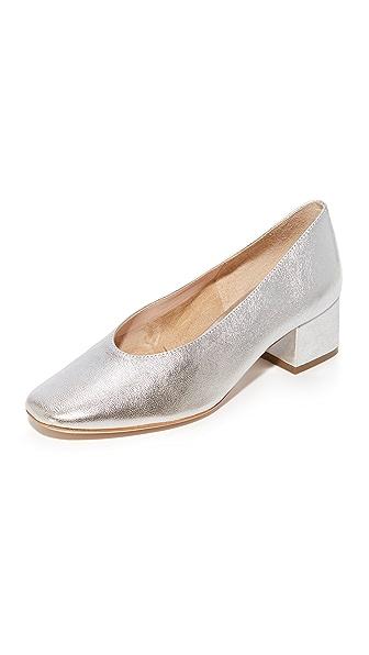 Loeffler Randall Brooks Low Heel Pumps - Silver