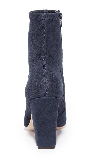 Loeffler Randall Isla Stretch Pointed Toe Booties