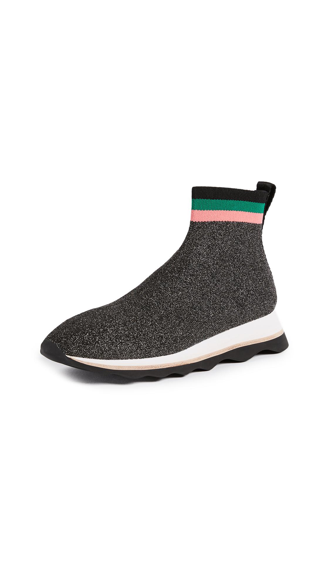 Loeffler Randall Scout Sneakers - Black/Silver/Multi