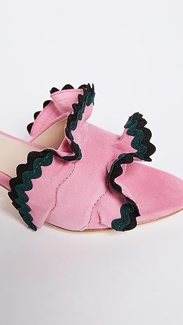 Loeffler Randall Vera City Slide Sandals