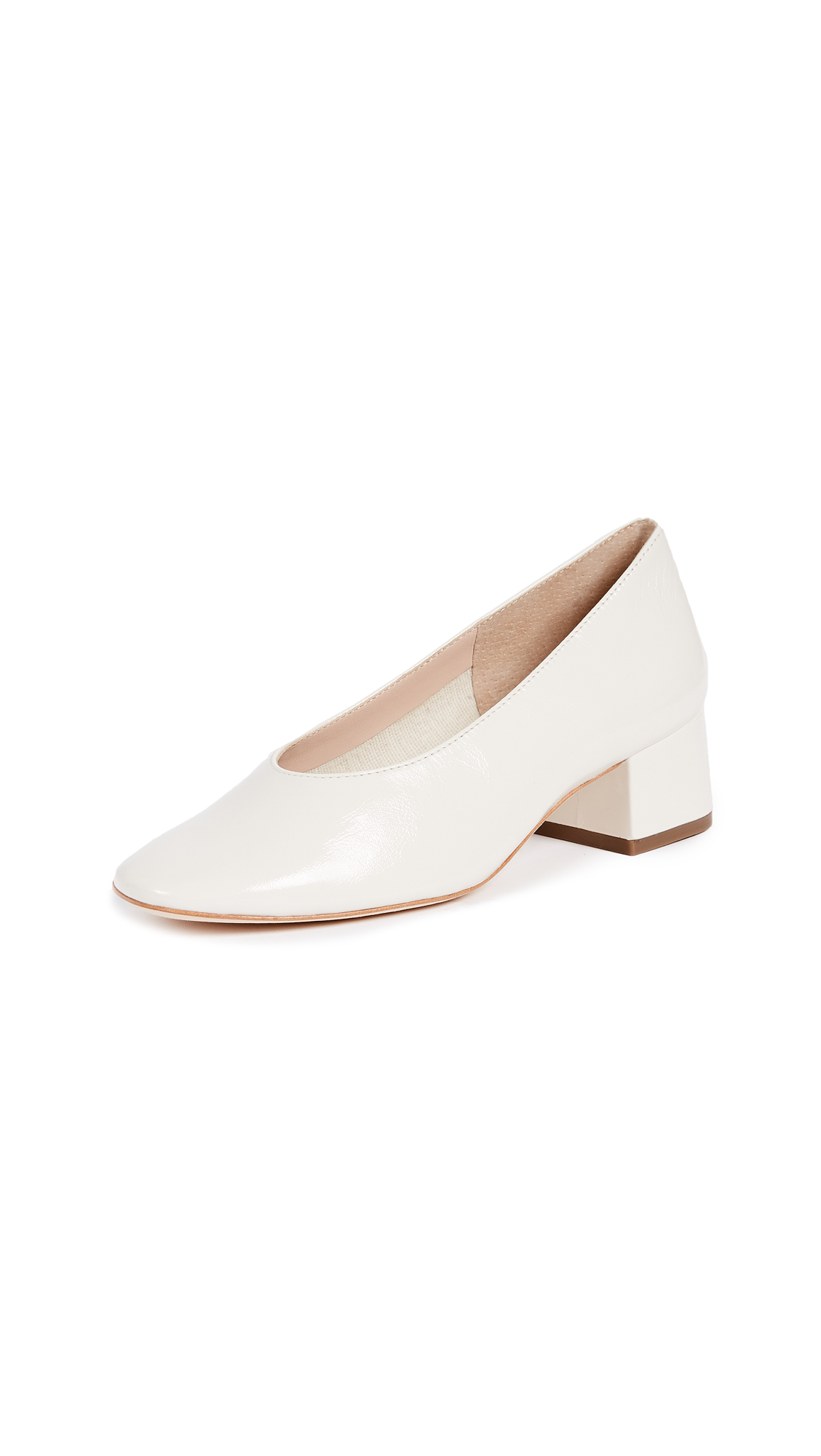 Loeffler Randall Brooks Low Heel Pumps - Stone