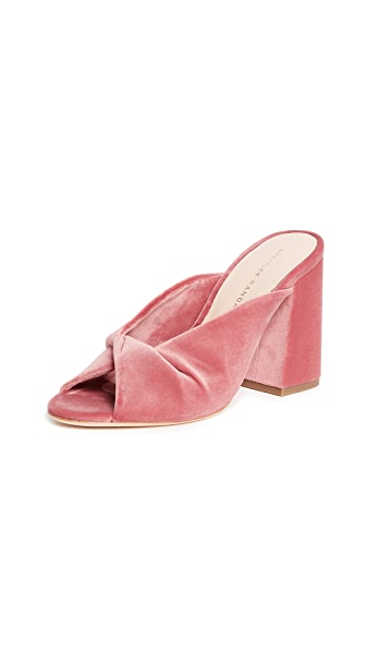 Loeffler Randall Laurel Open Toe Mule In Cherry Blossom