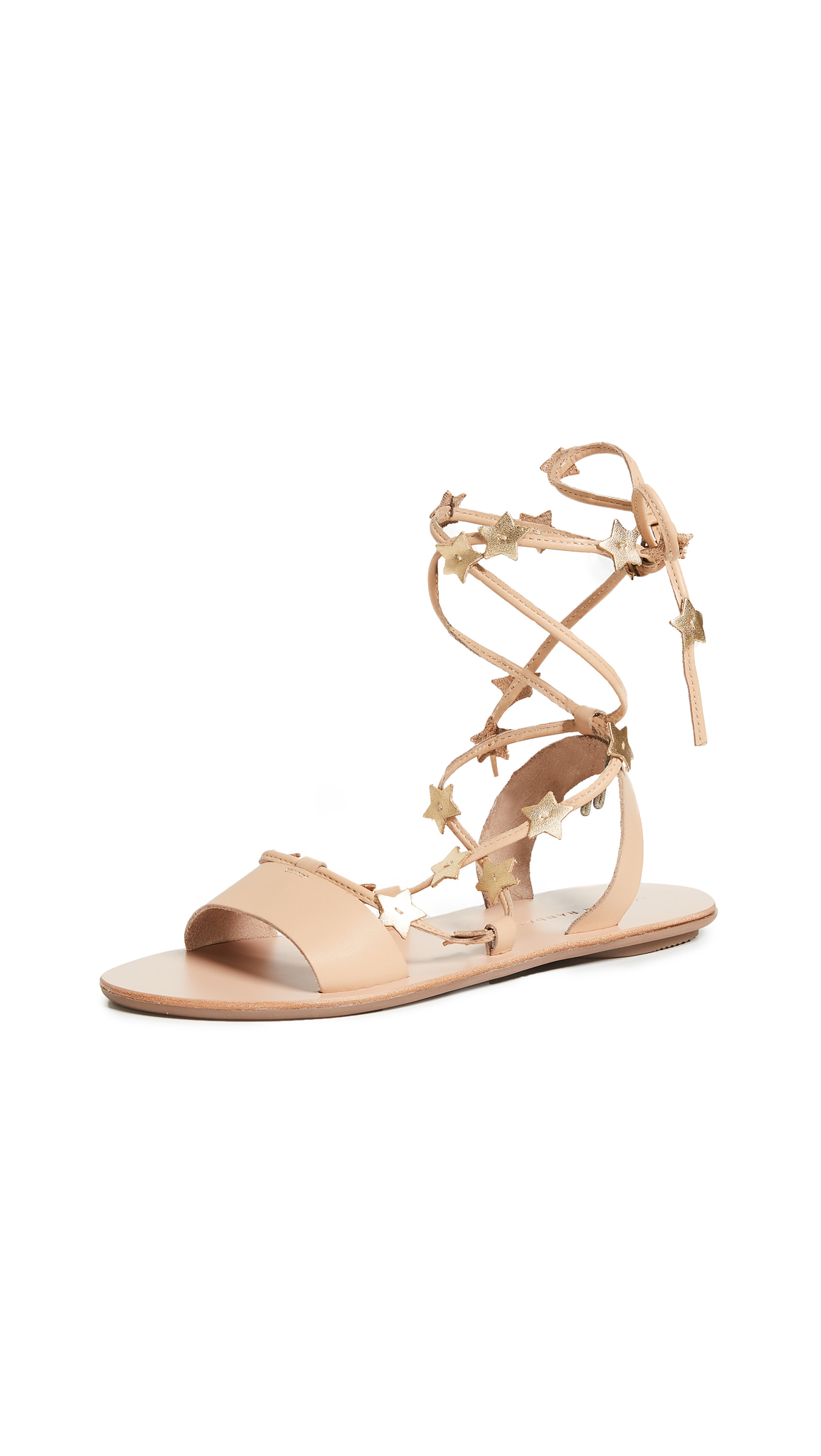 Loeffler Randall Starla Sandals - Wheat/Gold