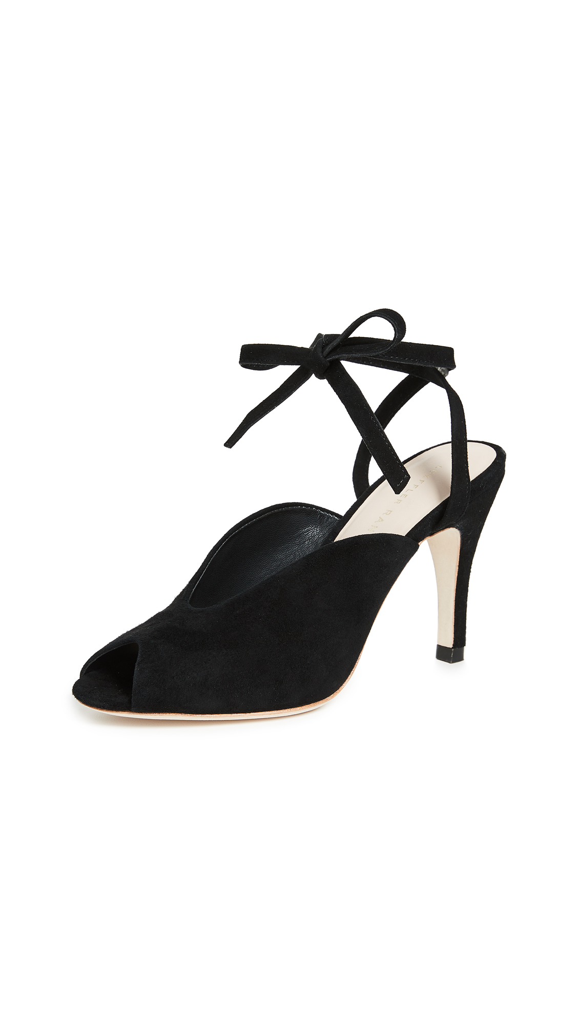 Loeffler Randall Mila Wrap Sandals - Black