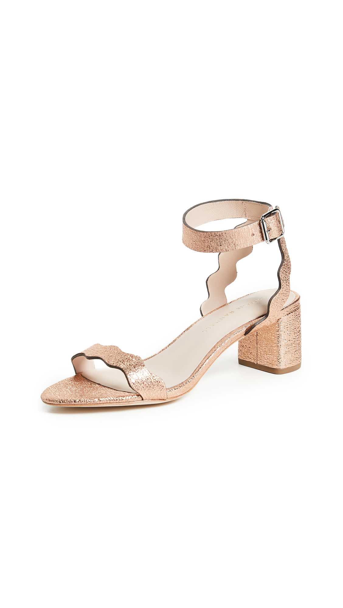 Loeffler Randall Emi City Sandals - Topaz
