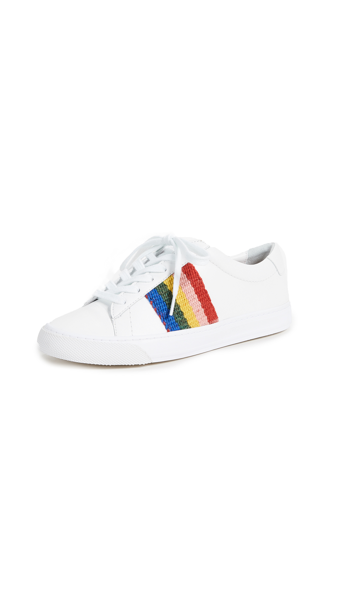 Loeffler Randall Logan Sneakers - White/Rainbow